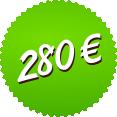 280 EUR
